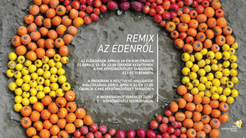Remix despre Paradis - Workshop și expoziție