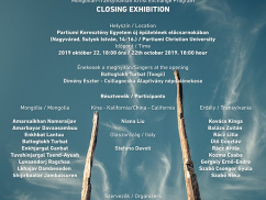 Exhibition and Ceremony of Mongolian-Transylvanian Artist Exchange Program
